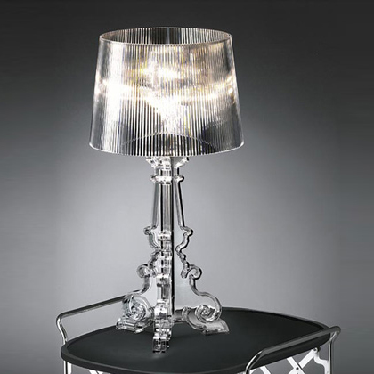 Bvh bourgie big table lamp ferruccio laviani design table for Ferruccio laviani bourgie lamp